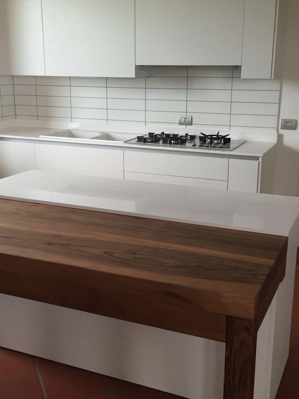 Cucina Bianca E Ciliegio cucine - la fiume mobili