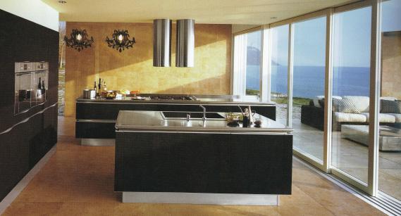 cucine moderne bianche e nere cucine la fiume mobili